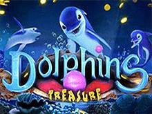 Шанс играть на деньги в казино Чемпион на автоматах Dolphins Treasure
