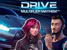 В Вулкан 24 играть в автомат Drive: Multiplier Mayhem