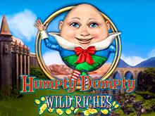 Humpty Dumpty Wild Riches – сказочный игровой автомат с необычными спинами